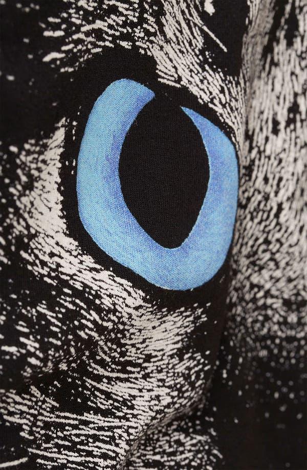 Alternate Image 4  - Topshop Cat Graphic Skater Dress