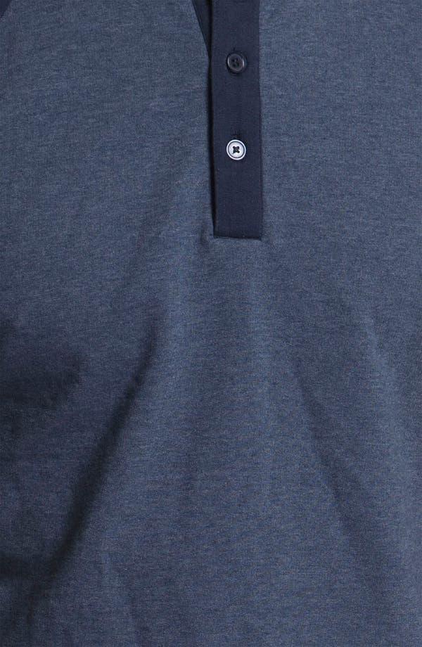 Alternate Image 3  - Obey 'Schmidt' Raglan Sleeve Henley Sweatshirt