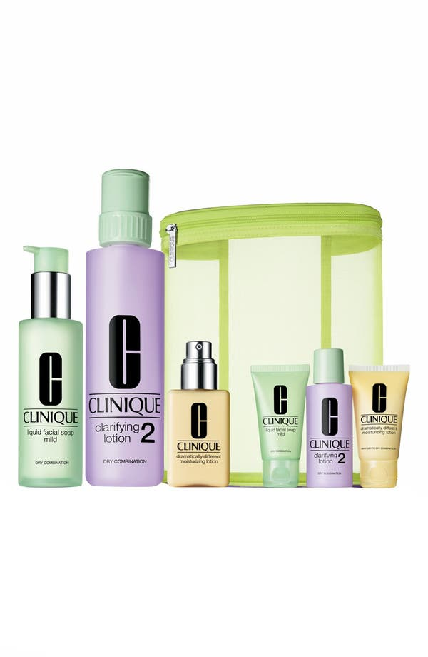 Alternate Image 1 Selected - Clinique 'Great Skin' Home & Away Set