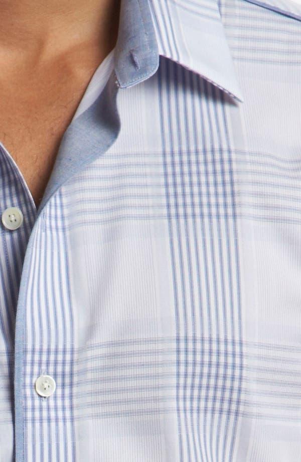Alternate Image 3  - Kenson Trim Fit Sport Shirt