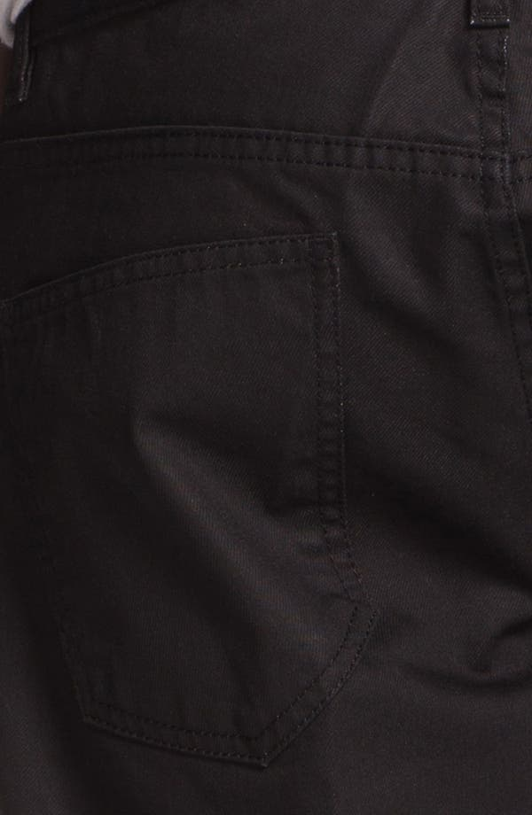 Alternate Image 4  - Topman 'Lux Collection' Coated Skinny Jeans