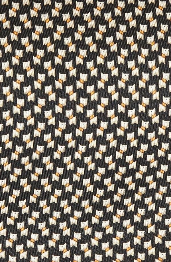 Alternate Image 2  - Salvatore Ferragamo Scottie Print Silk Tie