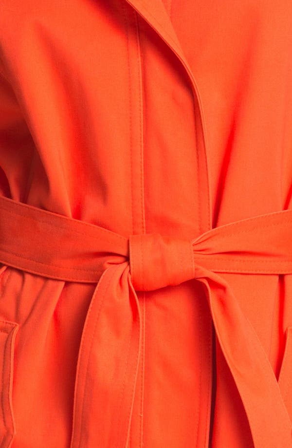 Alternate Image 3  - Calvin Klein Hooded Trench Coat