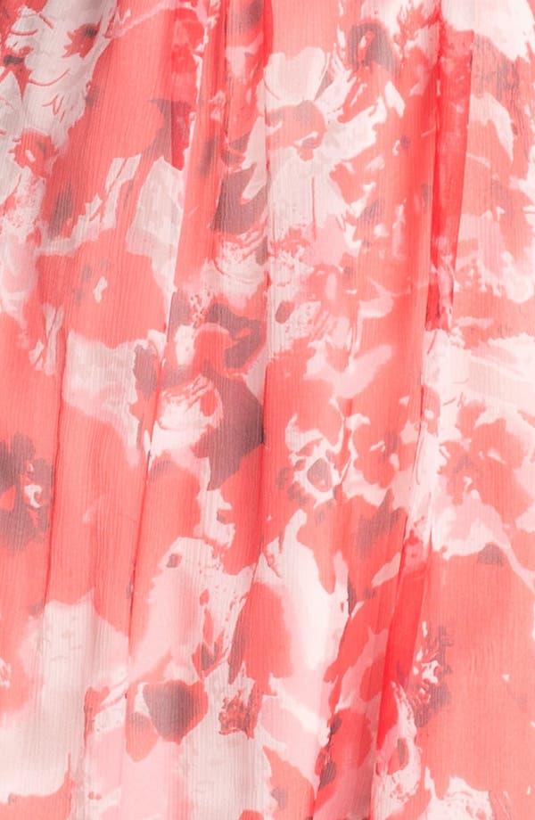 Alternate Image 3  - Amsale 'Amore' Print Silk Chiffon Dress