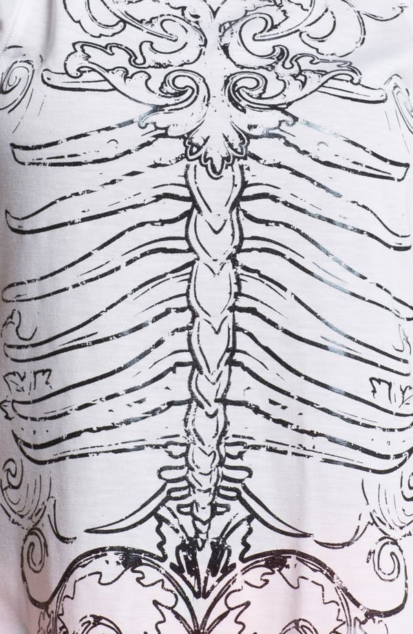 Alternate Image 3  - Ten Sixty Sherman Skeleton Screenprint Tee (Juniors) (Online Only)