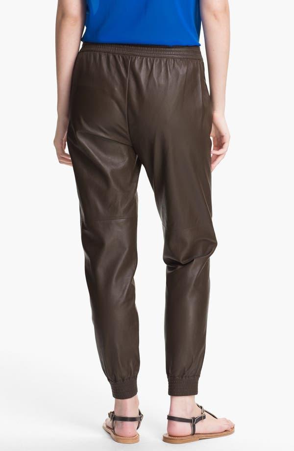 Alternate Image 2  - Vince Leather Track Pants