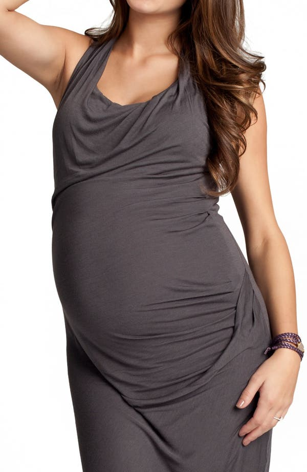Alternate Image 3  - Ingrid & Isabel® 'Athena' Maternity Maxi Dress