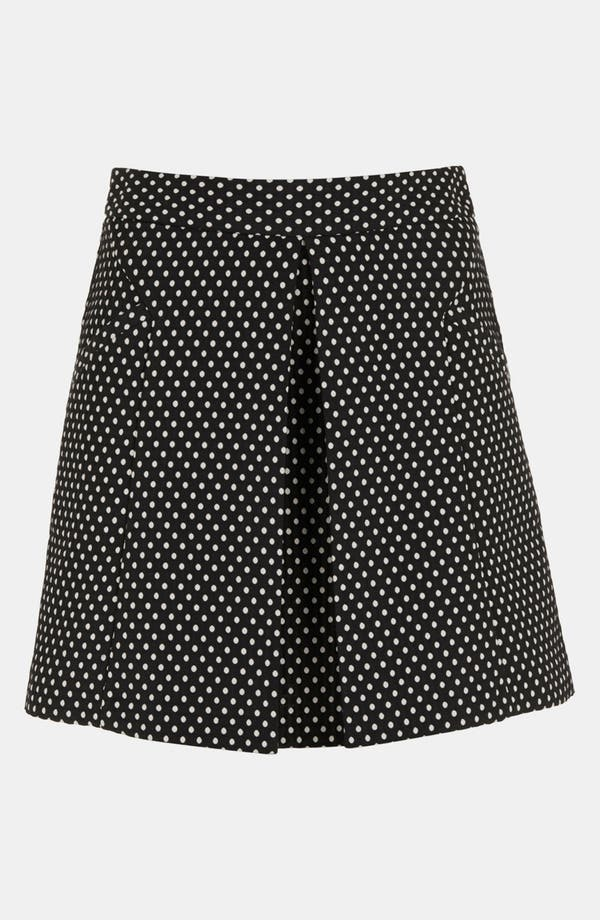 Alternate Image 3  - Topshop Polka Dot A-Line Skirt