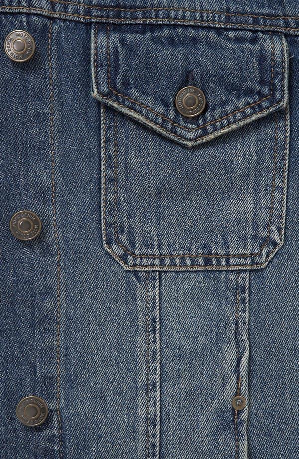 Alternate Image 3  - Topshop 'Sylvie' Oversized Denim Jacket