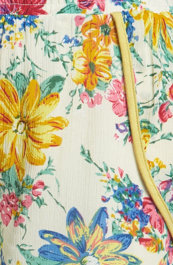 Alternate Image 4  - Lucca Couture Floral Shorts
