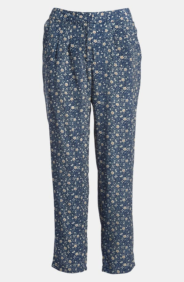 Alternate Image 1 Selected - Lucca Couture Floral Crop Pants