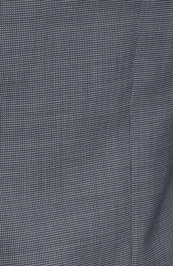 Alternate Image 6  - Armani Collezioni 'Giorgio' Tic Weave Wool Suit