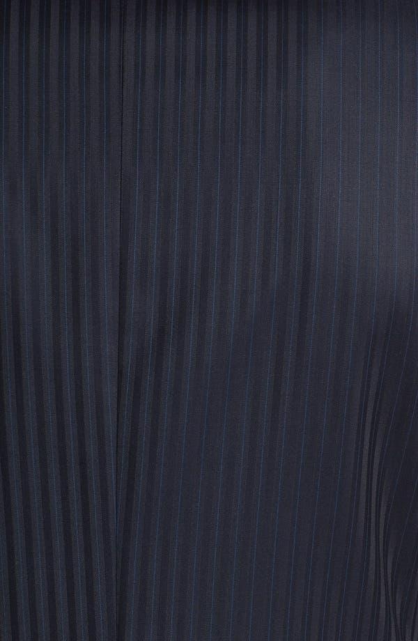 Alternate Image 6  - Versace Trim Fit Stripe Suit
