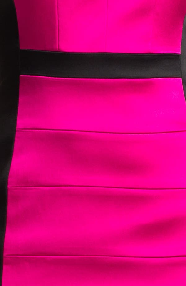 Alternate Image 3  - JAX Colorblock Seamed Sleeveless Sheath Dress