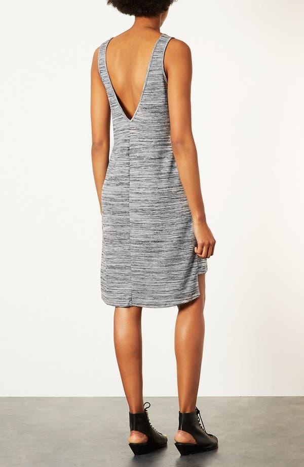 Alternate Image 2  - Topshop V-Back Marled Dress