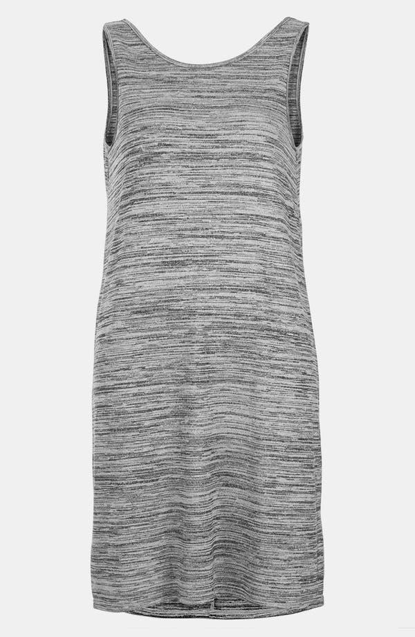 Alternate Image 3  - Topshop V-Back Marled Dress
