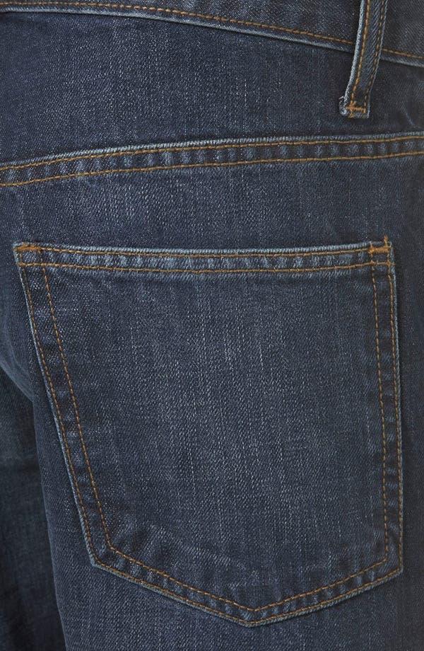Alternate Image 3  - Topman Slim Fit Jeans (Blue)