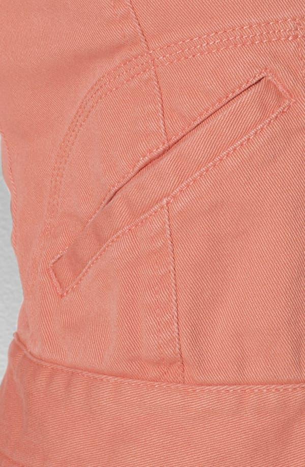 Alternate Image 3  - Lauren Ralph Lauren Crop Denim Jacket (Plus)