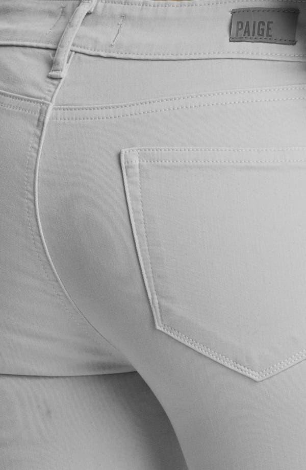 Alternate Image 3  - Paige Denim 'Verdugo' Ultra Skinny Ankle Jeans (Metal)
