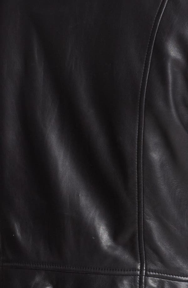 Alternate Image 3  - Hinge® Laser Cut Leather Jacket