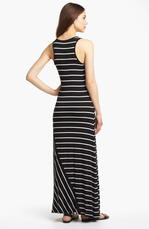 Alternate Image 2  - Kensie Stripe Maxi Dress