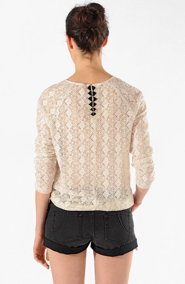 Alternate Image 2  - maje 'Artiso' Lace Top