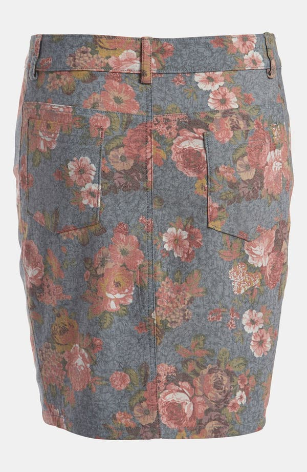 Alternate Image 3  - Lucca Couture Floral Skirt