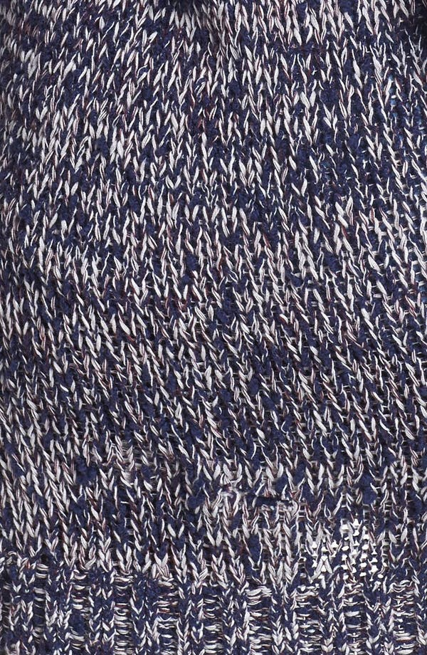 Alternate Image 3  - Rubbish® Textured Marled Cardigan (Juniors)
