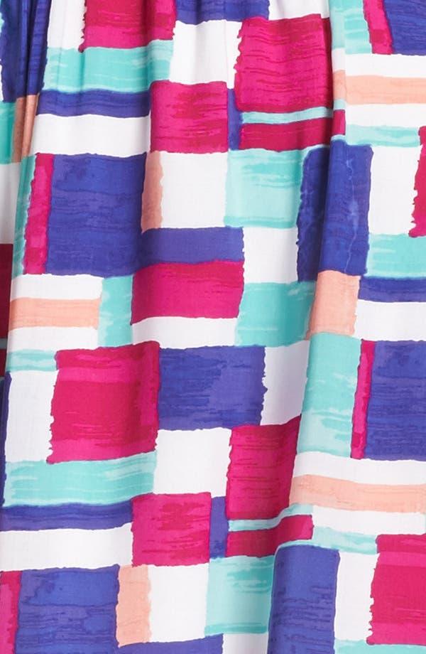 Alternate Image 3  - Splendid 'Painted Patchwork' Print Dress