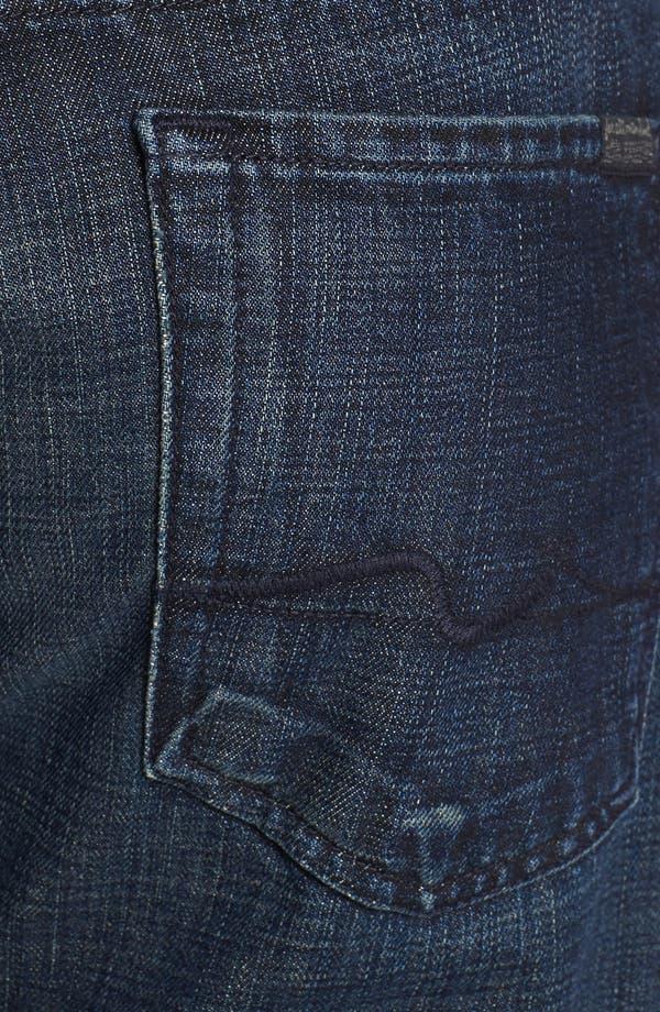 Alternate Image 4  - 7 For All Mankind® 'Austyn' Straight Leg Jeans (Porter Mist)