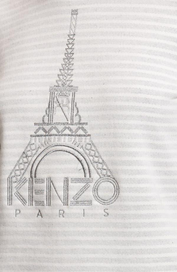 Alternate Image 3  - KENZO Eiffel Tower Stripe Sweatshirt