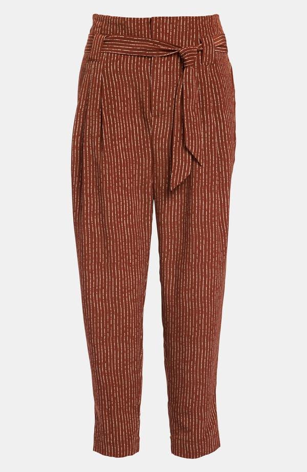 Main Image - Viva Vena! High Waisted Pleat Ankle Pants