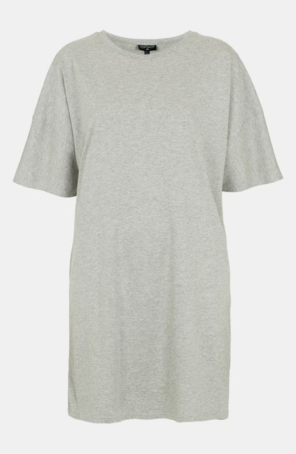 Alternate Image 1 Selected - Topshop Cotton Blend Tunic