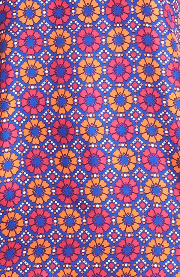 Alternate Image 3  - Miss Wu Geo Tile Print Silk Dress (Nordstrom Exclusive)