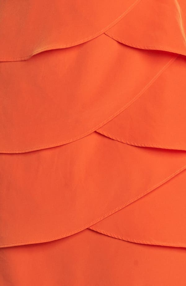 Alternate Image 3  - Laundry by Shelli Segal Tiered Skirt Racerback Blouson Dress
