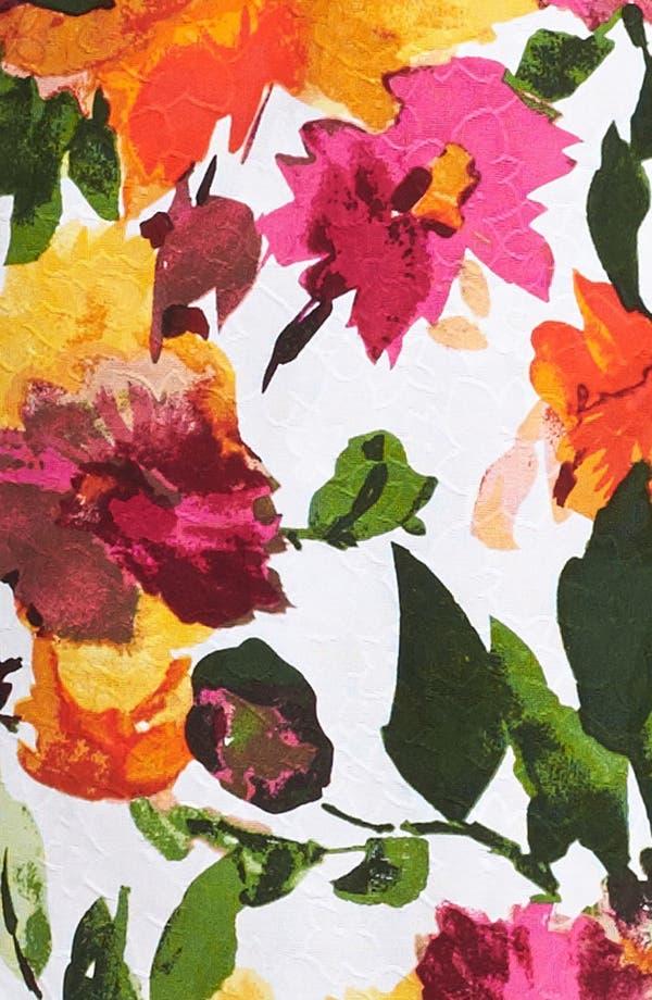 Alternate Image 3  - Donna Ricco Floral Print Sheath Dress