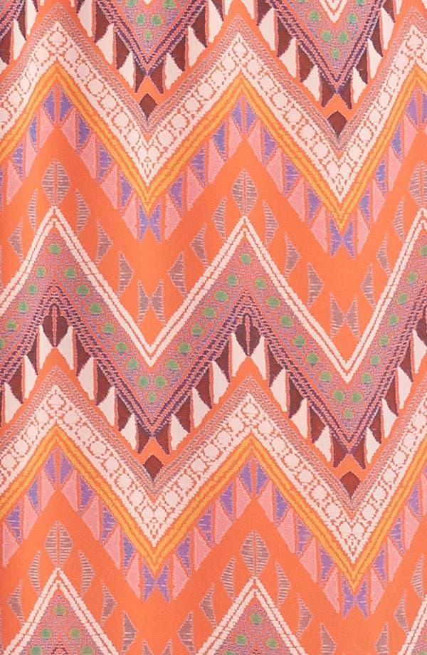 Alternate Image 2  - dee elle Racerback Print Maxi Dress (Juniors)