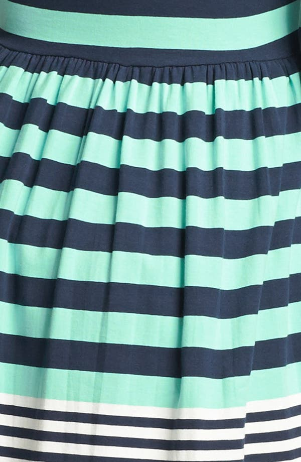 Alternate Image 3  - French Connection 'Boulevard' Stripe Fit & Flare Dress