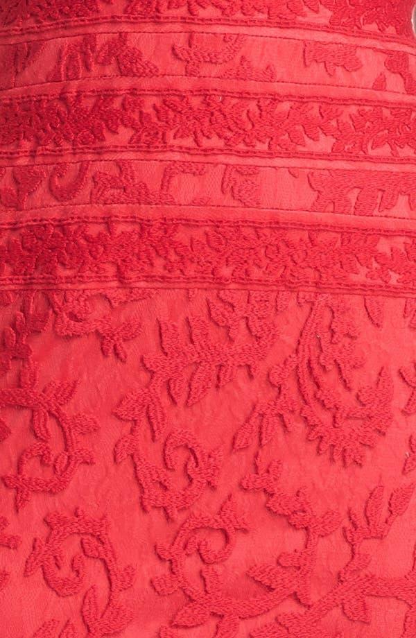 Alternate Image 4  - Tadashi Shoji Embroidered Dress