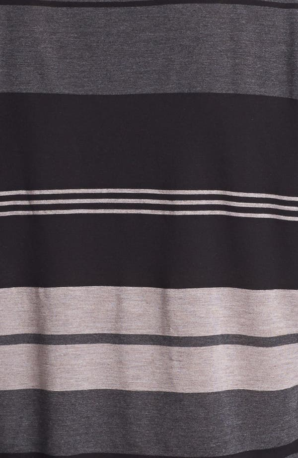 Alternate Image 3  - James Perse Stripe V-Neck Relaxed Fit Top