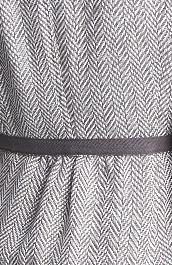 Alternate Image 3  - Tulle Herringbone Contrast Trim Jacket (Juniors) (Online Only)