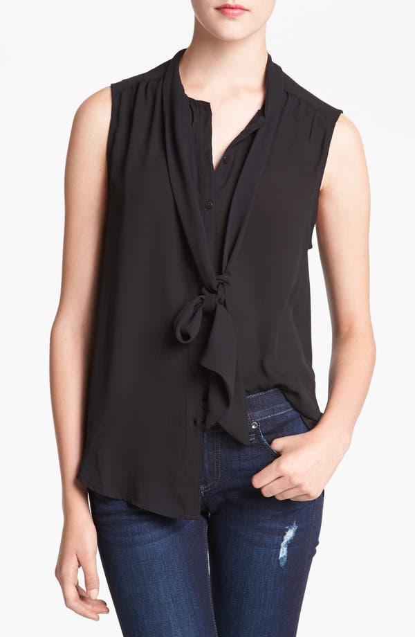 Main Image - Tildon Sleeveless Bow Blouse