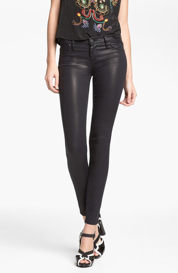Main Image - BLANKNYC 'Spray On' Super Skinny Jeans (Starman)