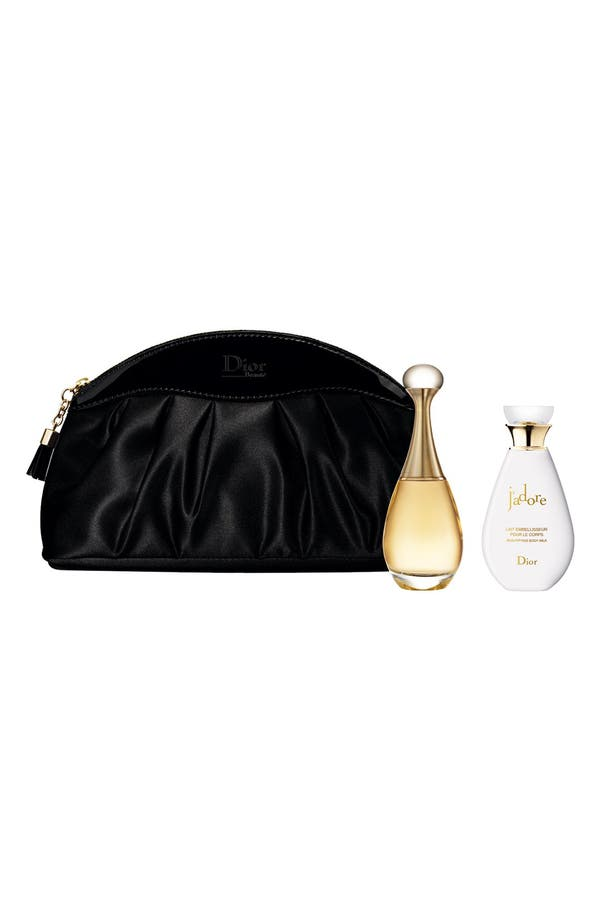 Alternate Image 1 Selected - Dior 'J'adore' Plisse Pouch Set (Limited Edition)
