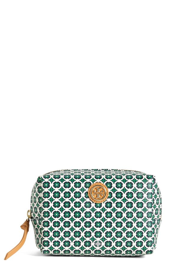 Main Image - Tory Burch 'Halland Brigitte' Cosmetics Case