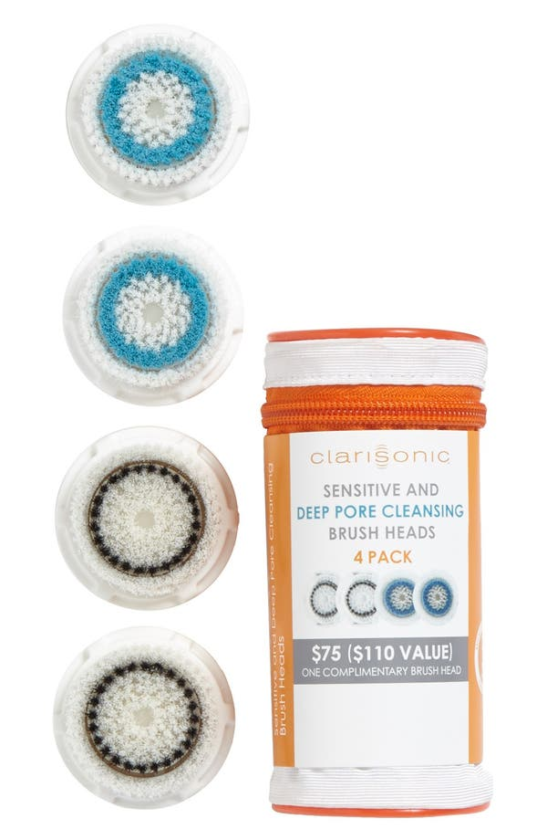 Main Image - CLARISONIC Combination Cleansing Brush Heads (4-Pack) ($110 Value)