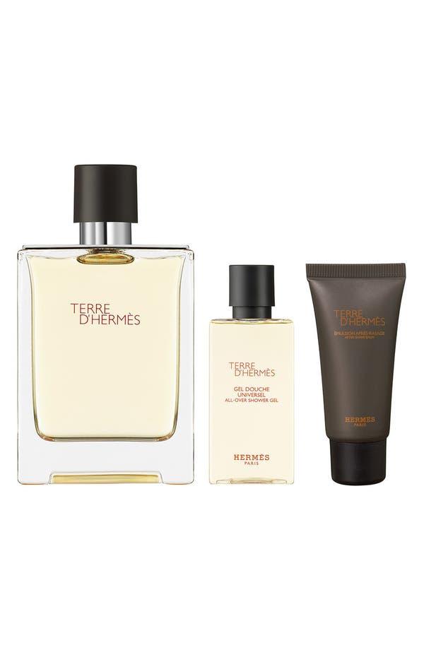Alternate Image 1 Selected - Hermès Terre d'Hermès - Eau de toilette natural spray set
