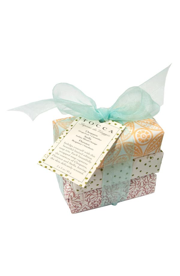 Alternate Image 1 Selected - TOCCA Soap Trio (Limited Edition)