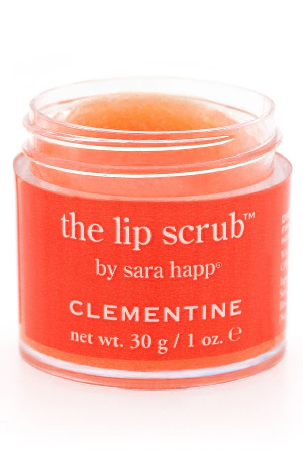 Alternate Image 1 Selected - sara happ® 'The Lip Scrub™ - Clementine' Lip Exfoliator