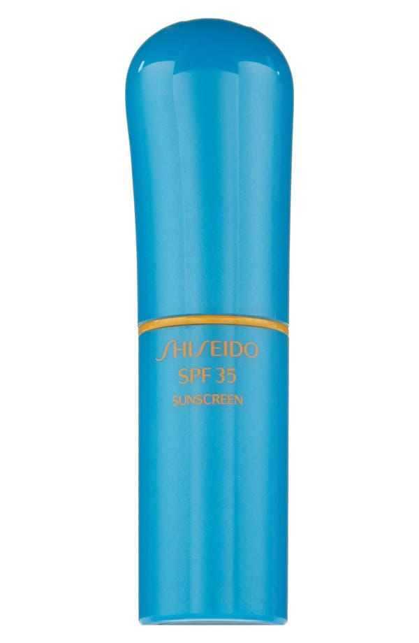 Alternate Image 1 Selected - Shiseido Sun Protection Lip Treatment SPF 35